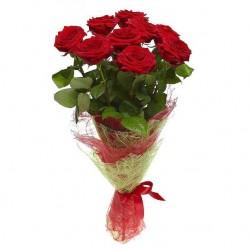 11 троянд 60 см
