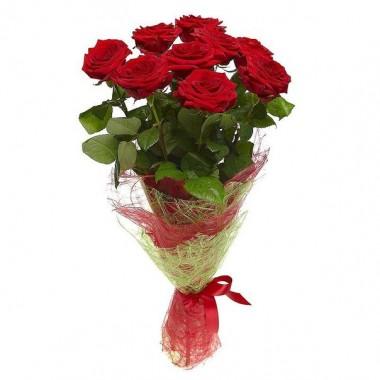 Букет з 11 троянд 60 см