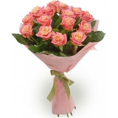 Букет з 15 троянд 60 см