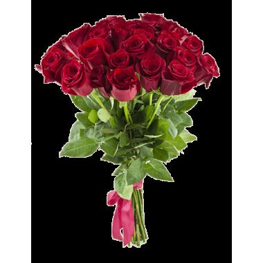 Букет з 21 троянд 50 см