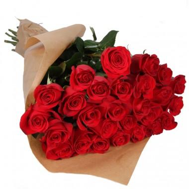 Букет 25 троянд 50 см