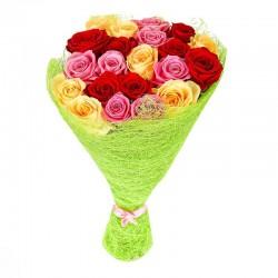 25 троянд 60 см