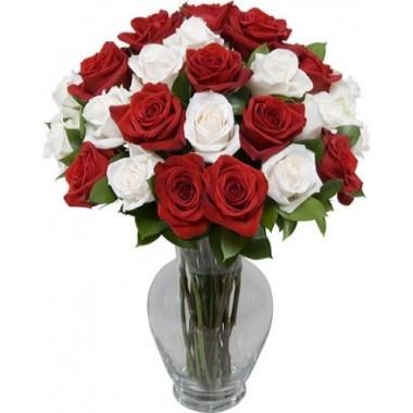 Букет 25 троянд 1 м.