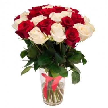 Букет 31 троянда 70 см