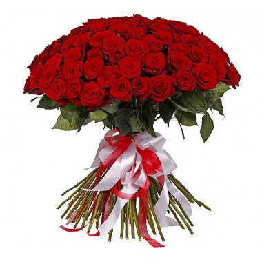 Букет 101 троянда 100 см