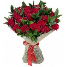 Букет: 35 троянд з доставкою