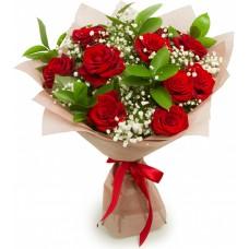 Букет: 11 троянд з доставкою