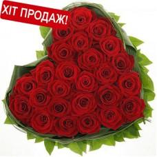 Букет: 25 троянд з доставкою