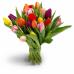 Букет з 21 тюльпану