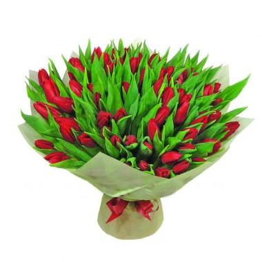 Букет 75 тюльпанів