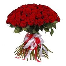Букет: 101 троянда з доставкою