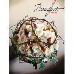Дизайнерський Весільний букет нареченої № 13