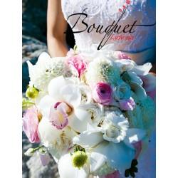 Весільний букет нареченої з орхідей № 15